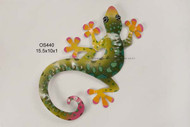 Gecko Metal Wall Art