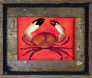 Colassal Stone Crab - Lobster Trap Art