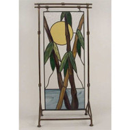 Bamboo Panel Tall Stainglass