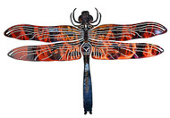 3D Dragonfly - Metal Wall Art