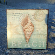 Shell - Beach Sign
