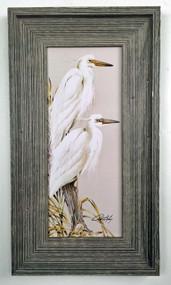 """White Splendor Painting 32"""" x 20"""""""
