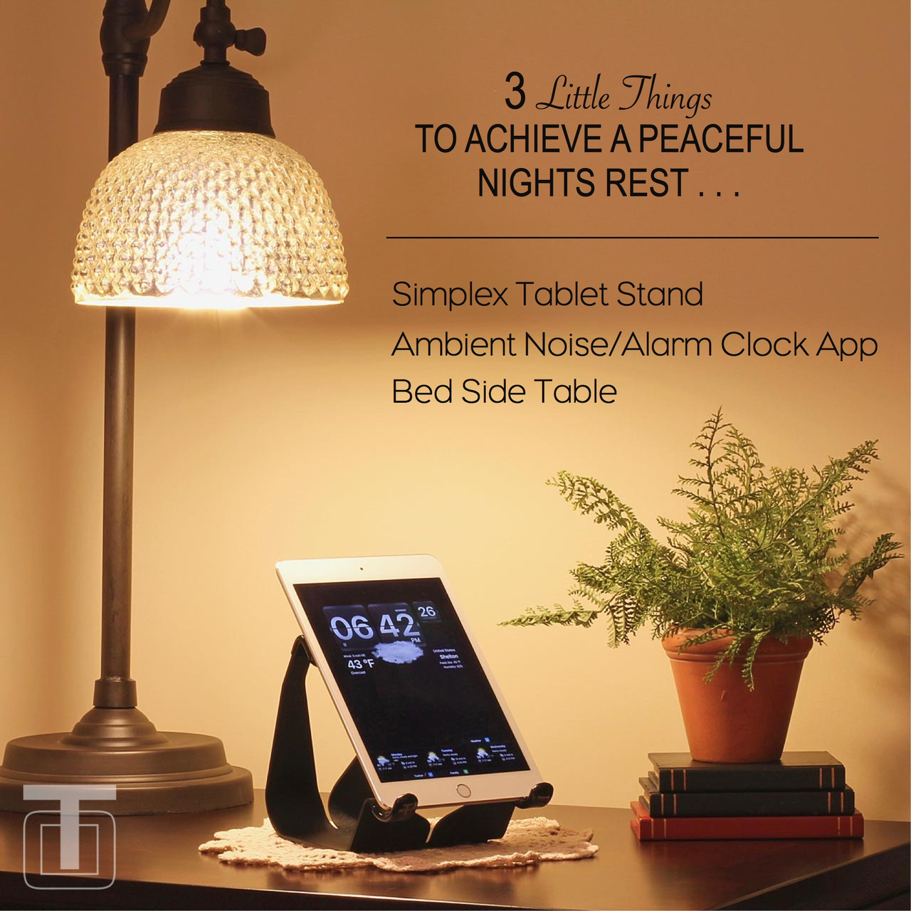 3 Tips To Achieve a Peaceful Nights Sleep with the Simplex Tablet Stand