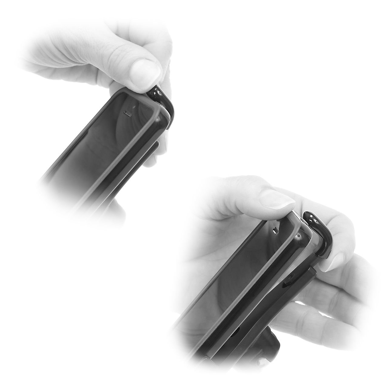PED4-CH50 iPhone Tripod Mount (iPhone 5 shown for illustration purposes)