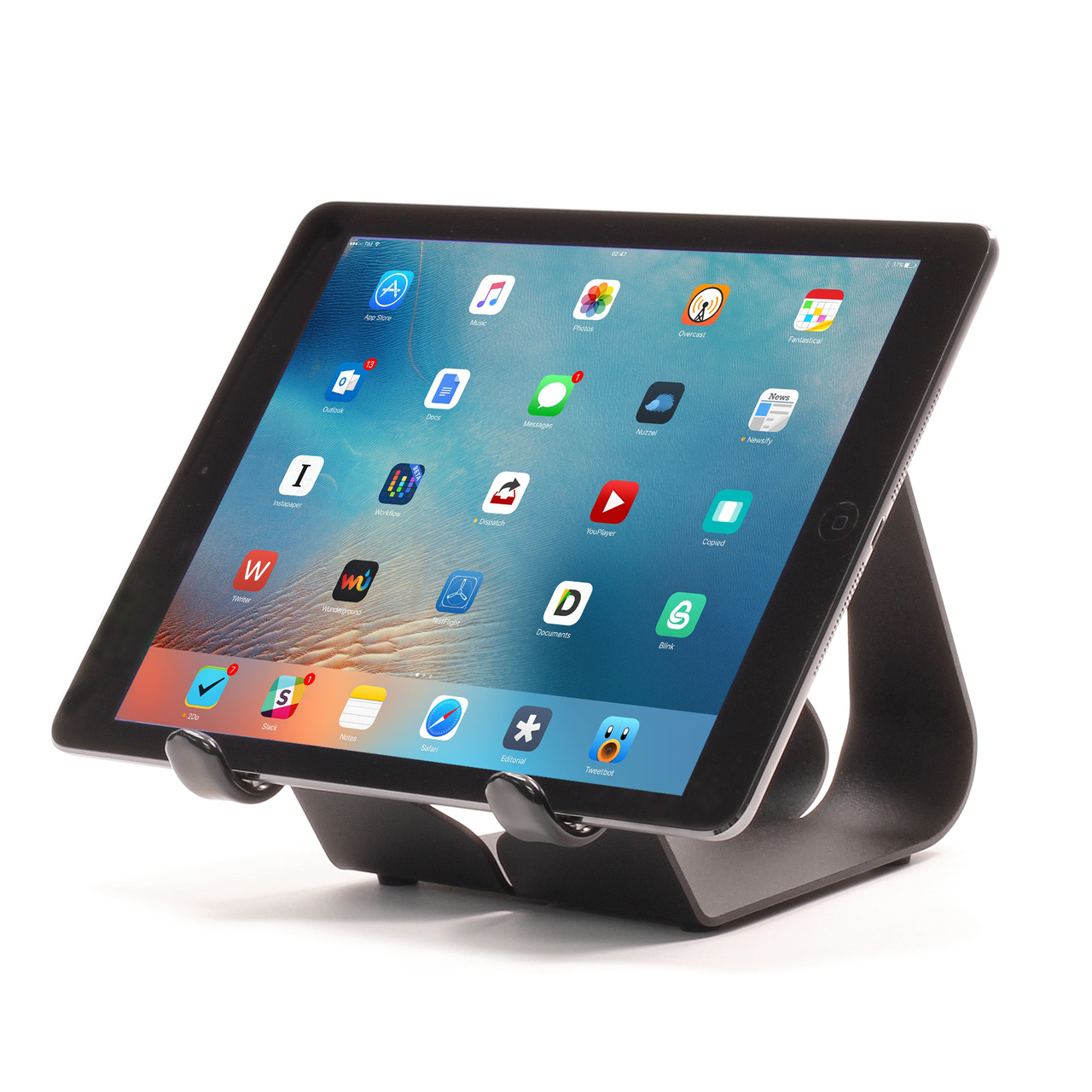 iPad Stand with landscape iPad Air