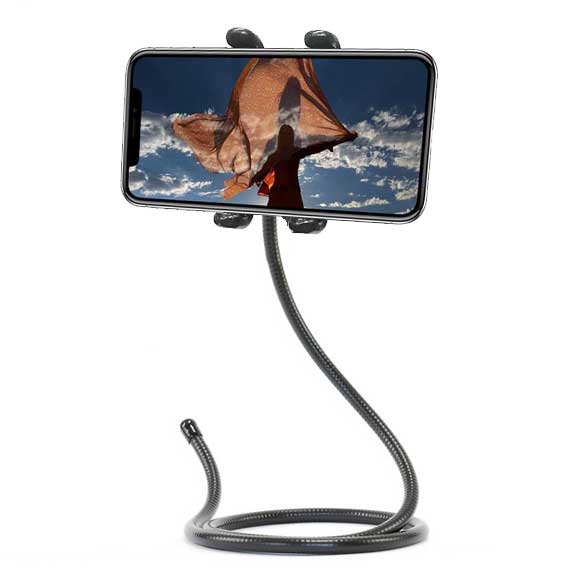 Flexible iPhone X Holder Stand