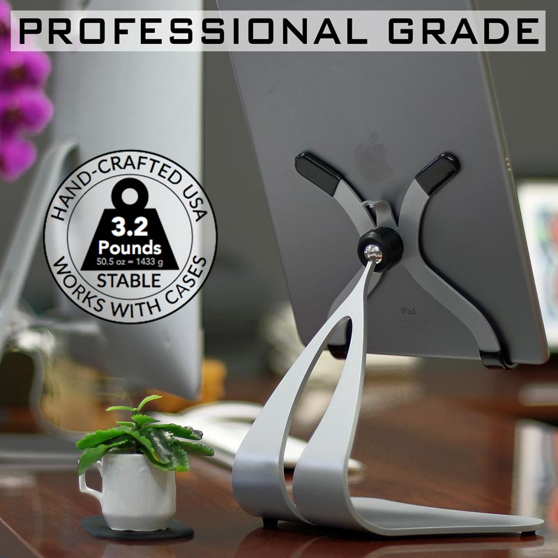 Pivoting iPad Stand - Professional Grade - Stabile PRO