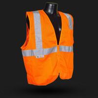 SV25  CLASS 2 FIRE RETARDANT WITH ZIPPER Orange 24ct Case