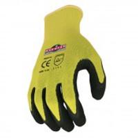 Radians Silver series™ Hi-Viz Knit Dip Glove 12ct pack