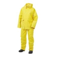 Rain Suit 3pc 35mil Yellow