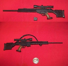 1/6th Scale Minature HK PSG-1 Sniper Rifle