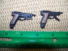 1/6th Scale 1x Beretta 93R Machine Pistol each