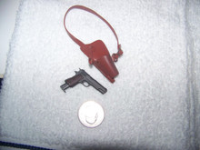 Miniature 1/6 1911 COLT 45 w/shoulder holster