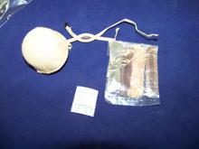 Miniature 1/6th Scale Modern Tan British Paratrooper Helmet w/Camo