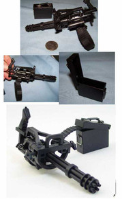 Miniature 1/6 Scale Mini Gun Rare