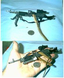 Miniature 1/6 scale M240B Medium Machine Gun #1