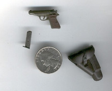 Miniature 1/6th Scale German Mauser HSC & Holster