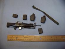 1/6 Scale 21st Century Nam M16 Rifle w/203 Belt & more #2