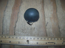 Miniature 1/6th Scale British WWII Paratrooper Netted Helmet #1