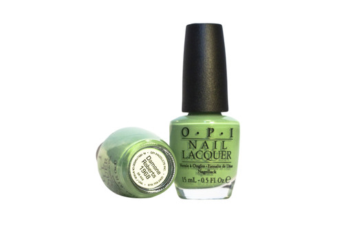 """The nail polish color was matched directly from our Beverly Hills & New York Salon walls in an effort to bring the unique pistachio tone, described by Damone himself as """"a different green with undertones of a soft grey, and a warm brown that works well on every skin tone""""."""