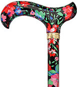 Moonlit Floral Designer Derby Adjustable R80520
