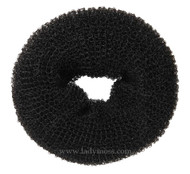 Black Hair Bun Donut - Large