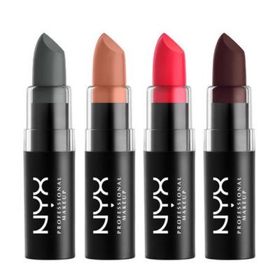 NYX Matte Lipstick MLS ladymoss.com