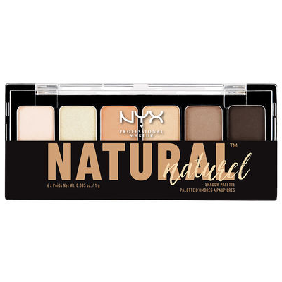 NYX The Natural Shadow Palette (TNS01) ladymoss.com