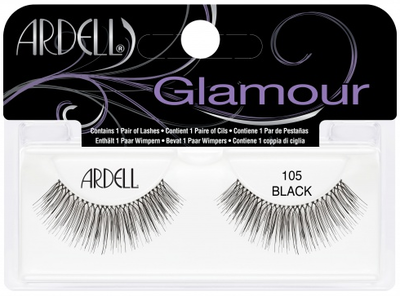 Ardell 105 Black (65002) false eyelashes lady moss beauty