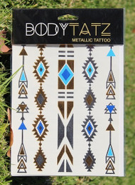 Body Tatz Metallic Tattoo - BT004
