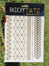 Body Tatz Metallic Tattoo - BT008