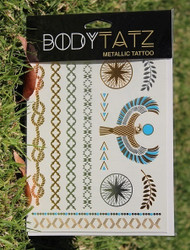 Body Tatz Metallic Tattoo - BT009