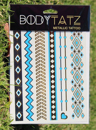 Body Tatz Metallic Tattoo - BT027