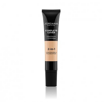 Jordana Complete Cover 2-In-1 Concealer & Foundation CCCF Picture Image Swatch