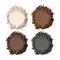 NYX Eyebrow Kit Set With Stencil Picture Image Swatch