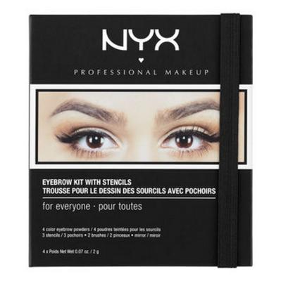 NYX Eyebrow Kit With Stencil (EBKS) Lady Moss Beauty