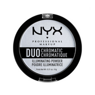 NYX Duo Chromatic Illuminating Powder DCIP Image Picture Swatch