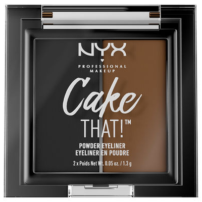 NYX Cake That! Powder Eyeliner CTL01 picture image swatch