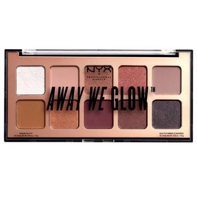 NYX Away We Glow Shadow Palette (AWGSP) ladymoss.com