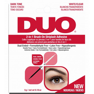 Duo 2-In-1 Brush-On Striplash Adhesive (65696) ladymoss.com