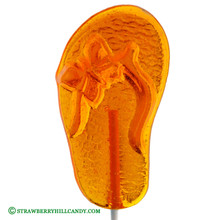 Flip Flop Clear Lollipop