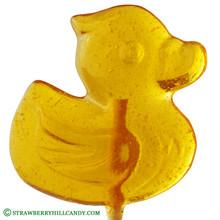 Ducky Clear Lollipop