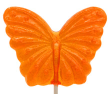 Butterfly Clear Lollipop