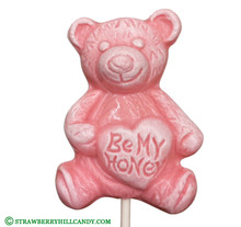 """Be My Honey"" Bear Lollipop"