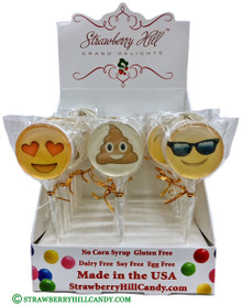 Emoji Lollipops
