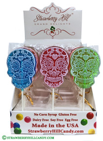 Day of the Dead Skull Lollipop