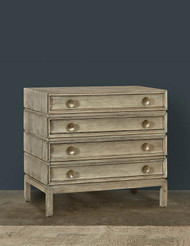 Ceruse 3 Draw Italian Chest