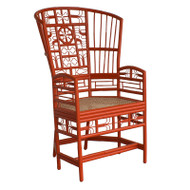 Indochine High Back Chair
