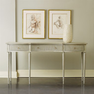 Ribbed Drawer Console
