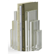 Crystal Bookends